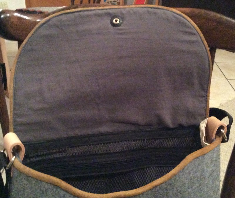 Laptoptasche aus Filz – Kreative Nische