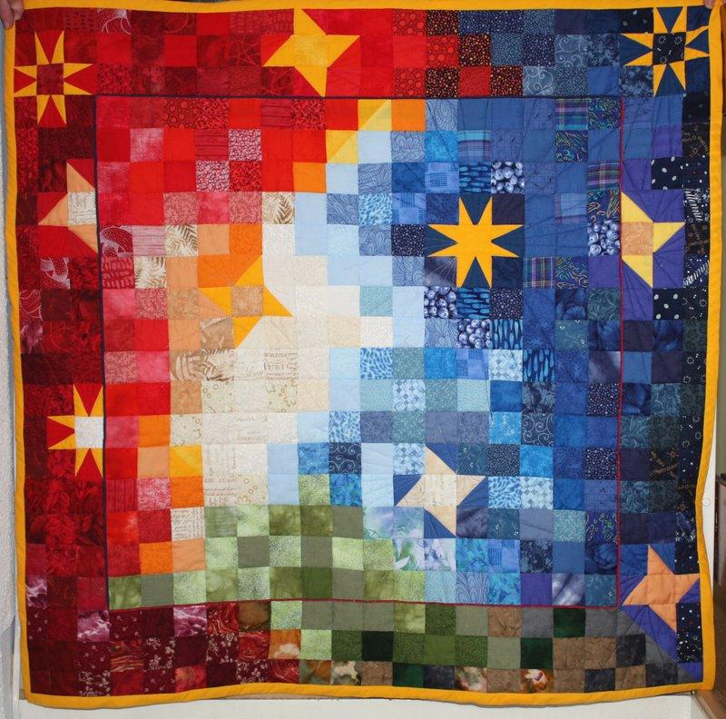 Patchwork seite 4 kreative nische - Wandbehang patchwork ...